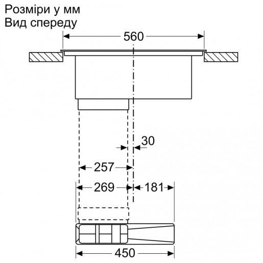 Варильна панель BOSCH PIE611B15E