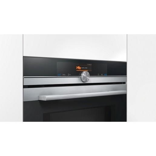 Компактна духова шафа з мікрохвильовим режимом SIEMENS CM678G4S1